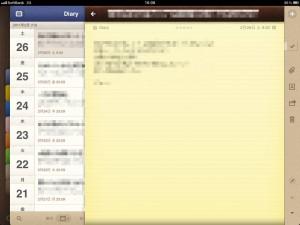 iPadとiPhoneのAwesome Noteでものかき