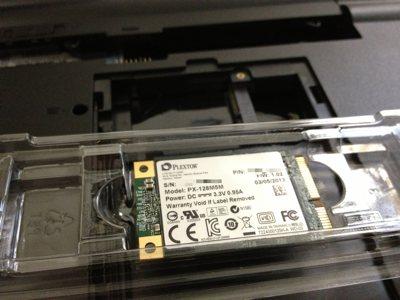 PLEXTOR 製の SSD「PX-128M5M」