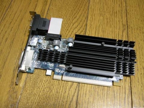 SAPPHIRE HD6450 1G DDR3 PCI-E HDMI/DVI-D/VGA ボード本体