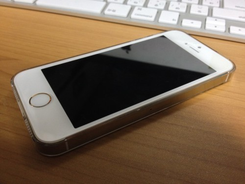 iPhone 5s Gold 液晶側