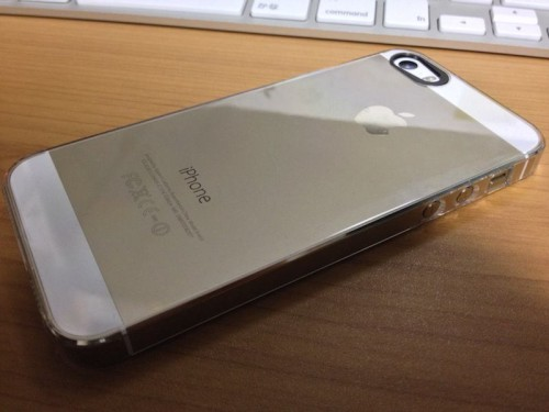iPhone 5s Gold 裏面