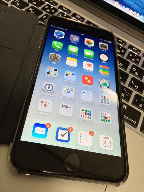 iPhone 6 Plus スペースグレイ
