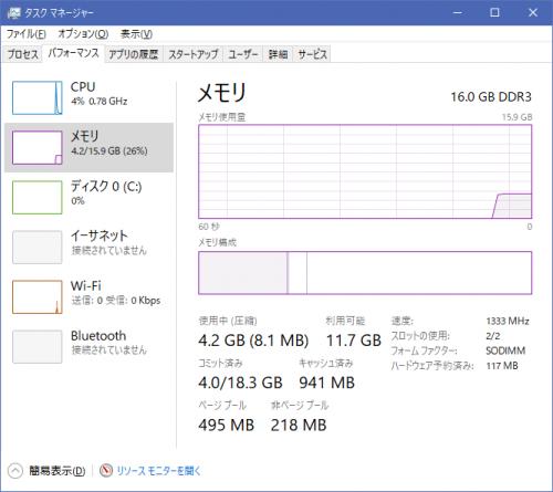 ThinkPad X220 メモリ16GB