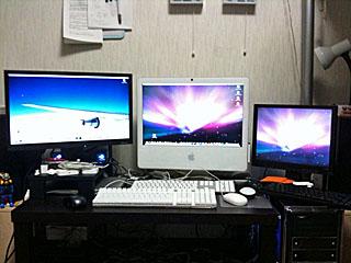 iMacのデュアルディスプレイ/MacBookのクラムシェルモードディスプレイ